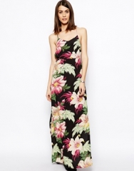 Floral Maxi Dress at Asos