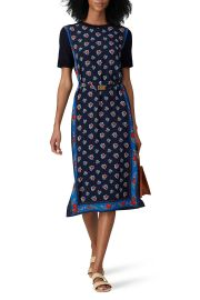 Floral Merino Wool Sheath Dress by Tory Burch at Rent The Runway