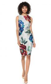 Floral Midi Dress by Calvin Klein at Zappos