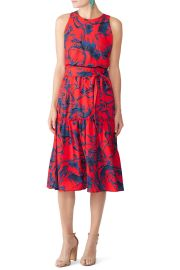Floral Midi Dress by Slate  Willow at Rent The Runway