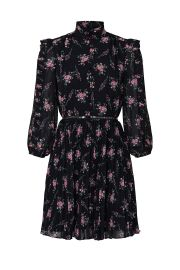 Floral Pleated Dress by ML Monique Lhuillier at Rent The Runway