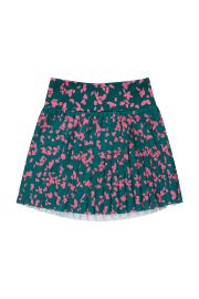 Floral Pleated Skirt by By Johnny at By Johnny