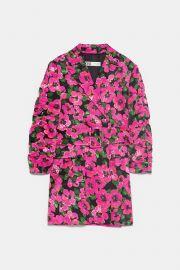 Floral Print Blazer Dress by Zara at Zara