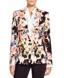 Floral Print Blazer by Basler at Bloomingdales