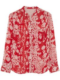 Floral Print Blouse at ba&sh