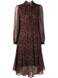 Floral Print Dress by Pinko at Farfetch