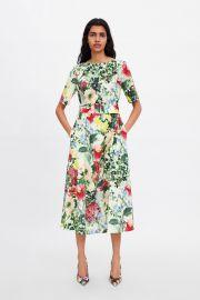Floral Print Dress by Zara at Zara
