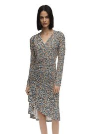 Floral Print Jersey Dress by Atlein at Luisaviaroma