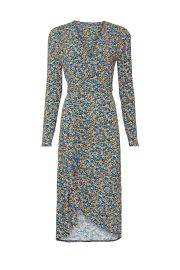 Floral Print Jersey Dress by Atlein at Rent The Runway