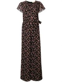 Floral Print Jumpsuit by MICHAEL Michael Kors at Farfetch
