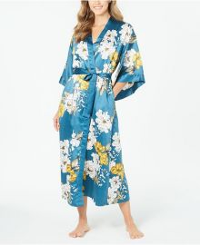 Floral-Print Kimono Robe at Macys