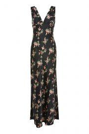 Floral Print Maxi Dress at Topshop