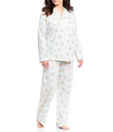 Floral Print Pajamas by Ralph Lauren at Macys