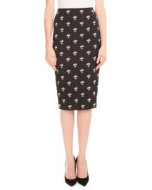 Floral-Print Pencil Skirt at Bergdorfgoodman
