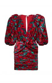Floral Print Ruched Dress by Magda Butrym at Moda Operandi