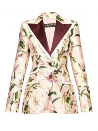 Floral-Print Shantung Blazer by Dolce  Gabbana at Matches