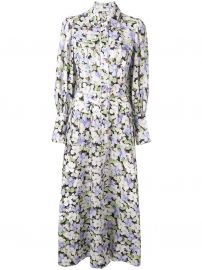 Floral Print Shirt Dress by Zimmermann at Farfetch
