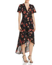 Floral Print Wrap Dress by Cotton Candy LA at Bloomingdales