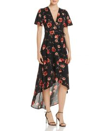 Floral Print Wrap Dress by Cotton Candy LA at Bloomingdales