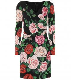 Floral Print Wrap Dress by Dolce  Gabbana at My Theresa