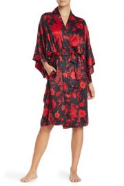 Floral Print Wrap Robe at Nordstrom Rack