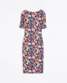 Floral Printed Dress by Zara at Zara