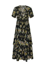 Floral Printed Quintina Dress by Brock Collection at Rent The Runway