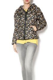 Floral Puffer Jacket at Shoptiques