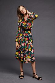 Floral Robe by Tara Jarmon at Shoptiques