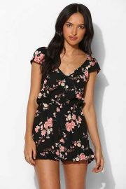 Floral Romper at Urban Outfitters