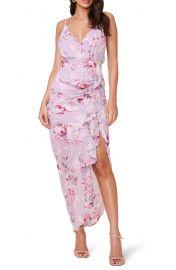 Floral Ruffle chiffon Dress at Nordstrom