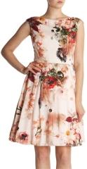 Floral Rupin Bloom Dress at Ted Baker