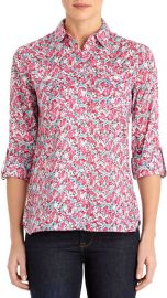 Floral Safari Shirt at Jones New York