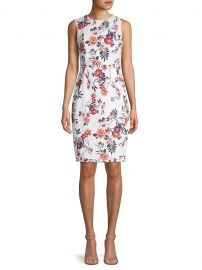 Floral Sheath Dress at Saks Off 5th