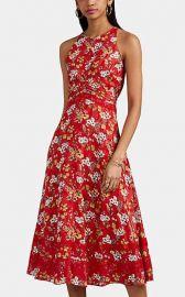 Floral Silk-Blend Jacquard Midi Dress by Derek Lam 10 Crosby at Barneys