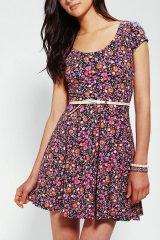 Floral Skater Dress at Urban Outfitters