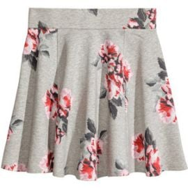 Floral Skirt at H&M