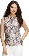 Floral Sleeveless Blouse at Brooks Brothers