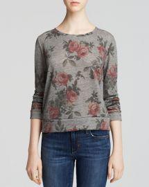 Floral Sweatshirt at Bloomingdales