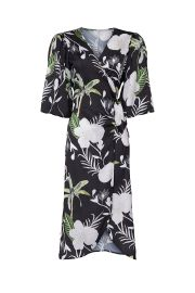 Floral Wrap Around Dress by LoboRosa at Rent The Runway