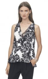 Floral blouse at Rebecca Taylor