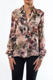 Floral blouse by Haute Hippie at Shoptiques