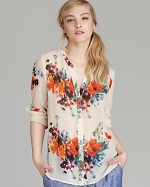 Floral blouse by Joie at Bloomingdales