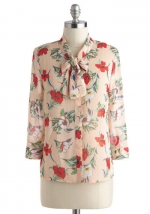 Floral blouse like Anns at Modcloth