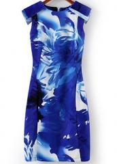 Floral bodycon dress at She Inside
