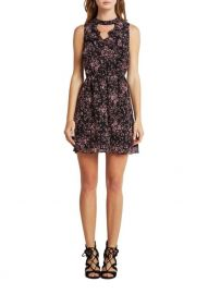 Floral choker dress at Lord & Taylor