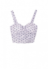 Floral cinched bandeau at Delias