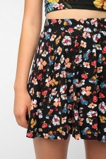 Floral circle skirt at Urban Outfitters at Urban Outfitters
