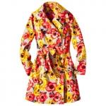 Floral coat at Target at Target