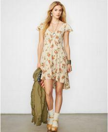 Floral dress at Ralph Lauren